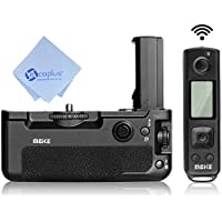 Meike MK-A9 pro 2.4GHz Remote Control Vertical Battery Grip for Sony A9 A7III A7RIII with Mcoplus cloth