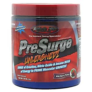 Presurge, Unleashed, Wild Berry Punch, 270 Grams