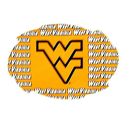 - Bama NCAA Officially Licensed West Virginia Mountaineers Repeating Design Swirl Magnet