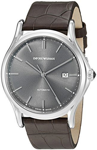 Emporio-Armani-Swiss-Made-Mens-ARS3000-Analog-Display-Swiss-Quartz-Black-Watch