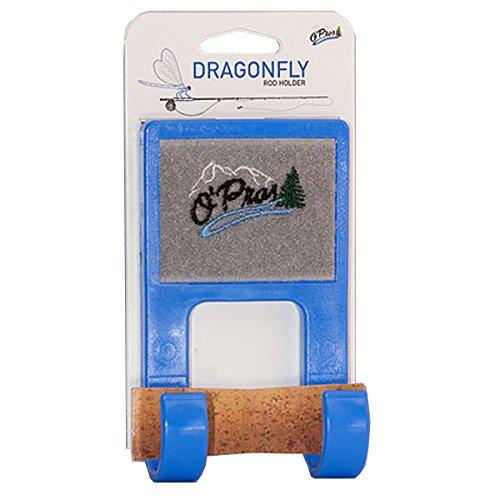 O'Pros Dragonfly Belt Clip Rod Holder Blue (Pro Rod Holder)