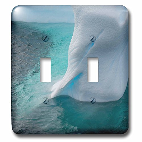 Argentine Island Light - Danita Delimont - Icebergs - Antarctica. Argentine Islands. Unusually shaped iceberg. - Light Switch Covers - double toggle switch (lsp_225190_2)