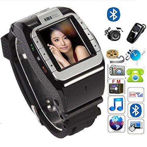 quad band cell phone watch - 2