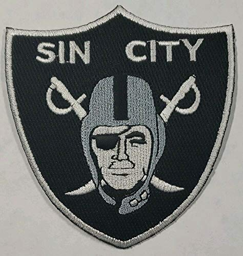 Oakland Raiders-Vegas Raiders SIN City Shield Iron