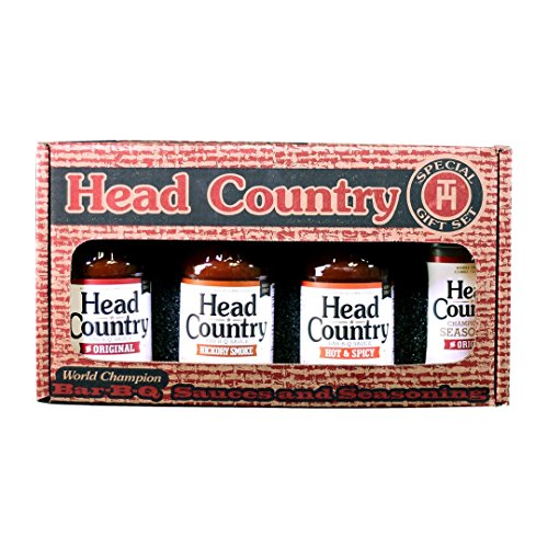 Head Country Bar-B-Q Combo Pack Assorted - Gift Sauce Bbq Set