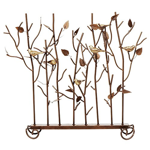 Birds of Summer Decorative Fireplace Screen