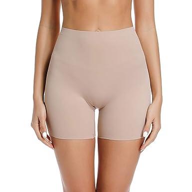 421585032a31 Joyshaper - Pantalones Cortos para Mujer, sin Costuras, Pantalones Cortos  de Seguridad, antirozaduras, Ultra Finos, elásticos, Pantalones Cortos