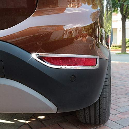 Für X1 F48 2016 2019 Exterieur Nebelschlussleuchte Dekor Abs Kunststoff Verchromt 2 Stück Auto