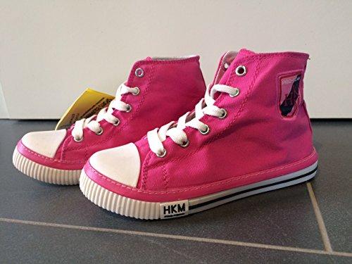 HKM PRO-TEAM Stoffschuh Grand Prix Farbe Pink Gr. 32