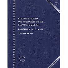 1891-1897 LIBERTY HEAD OR MORGAN TYPE SILVER DOLLAR No 9084 TRIFOLD ALBUM BINDER BOARD CARD COLLECTION FOLDER HOLDER PAGE PORTFOLIO PUBLICATION SET VOLUME
