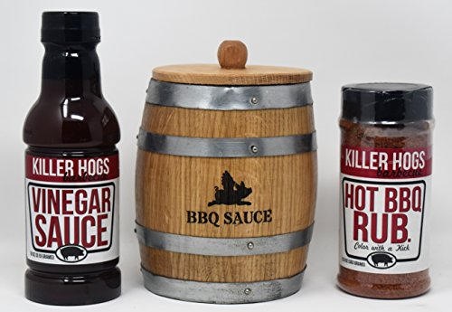 The Amazing BBQ Making Kit (Killer Hogs Vinegar/Hot)