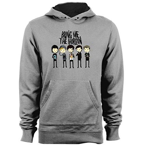 Bring Me The Horizon Cartoon Band Metal Rock Oli Sykes Unisex cheap hoodies