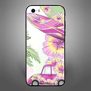 iPhone 5S Pink Car n Leaves