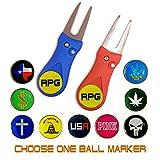 RPG Magnetic Switchblade Golf Divot Tool