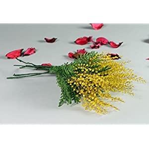 "Flowers Made From Beads ""Mimosa"" 17"