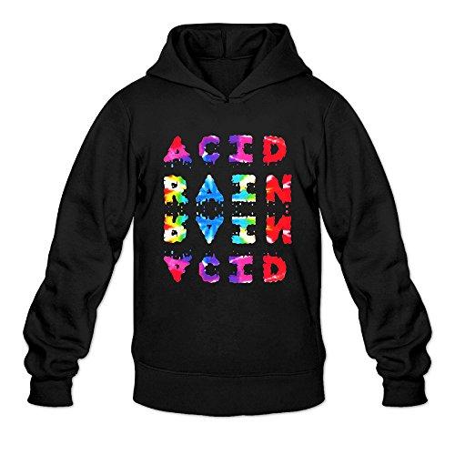 AK79 Men's Hoodie Chance Rapper Acid Rap Size XL Black