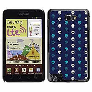 ZECASE Funda Carcasa Tapa Case Cover Para Samsung Galaxy Note I9220 No.0002118