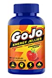 GoJo Energy Chews, with B Vitamins, Caffeine, Taurine, Strawberry Flavor, Gummies for Energy and focus you need to make it through your day. 90 Gummies For Sale