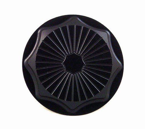 YANA SHIKI YANASHIKI - Gas Cap Anodized Black 3 Bolt Mount SUZUKI Sport Bikes Product code A3662BL by Yana Shiki