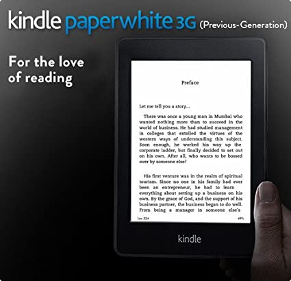 Kindle Paperwhite 3G (Previous Generation)