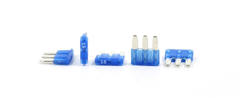 15A Fuses Pack of 5 Lumision Premium Automotive Micro3 ATL