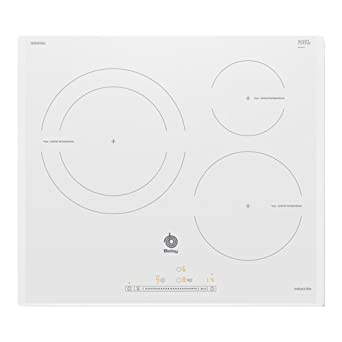 Balay 3EB965BU hobs Blanco Integrado Con - Placa (Blanco, Integrado, Con placa de