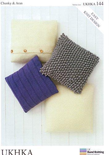 144 UKHKA patrón para tejer cojines a knit in - Ovillo de ...