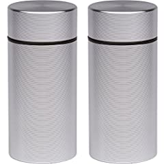 Stash Jars - Durable, Airtight, Smell Proof, Storage Containers by SimpleChoice. Our 1/8 oz (3.5 gram) or 50 mL Stash Jars are constructed with high quality aluminum, and are a perfect solution to storing and preserving your favorite herbs, f...