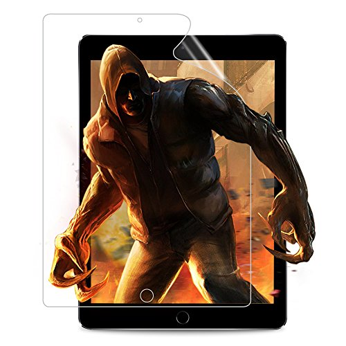 FlexKlearGlass Compatible Screen Protector film, if Applicable Apple iPad Pro 9.7/New iPad 9.7 (2018&2017) / iPad Air 2 / iPad Air, HD UltraClear 9H Soft Flexible Glass Screen Protector (Not Glass)