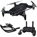MightySkins Skin For DJI Max Coverage - Black Diamond Plate | Protective, Durable, and Unique Vinyl Decal wrap cover | Easy To Apply, Remove, and Change Styles | Made in the USA