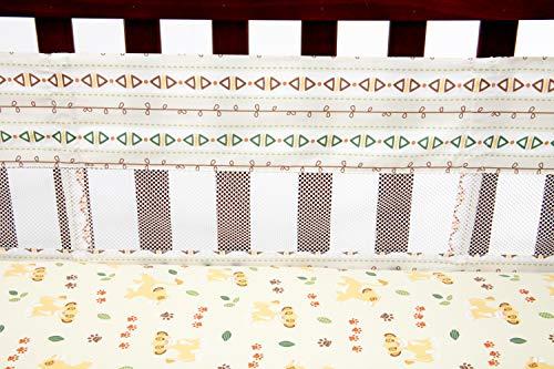 Disney Lion King Under The Sun Secure-Me Crib Liner, ()