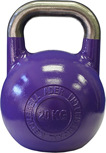 Ader Pro-Grade International Kettlebell- (20 Kg) by Ader Sporting Goods