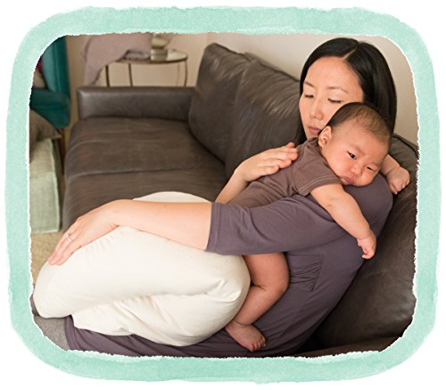 The Nesting Pillow - Organic Nursing Pillow with Washable Slip Cover by Blessed Nest (Image #4)