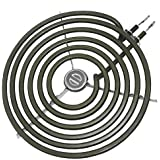 """WB30M2 8"""" 6 Turns Range Surface Element Coil Replacement for GE Electric Range Burner by Appliancemate"""