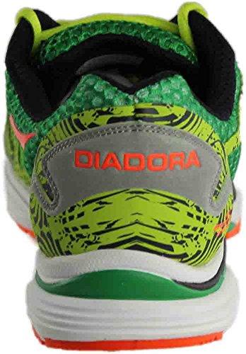 Diadora N-6100-3, Scarpe da Corsa Uomo, Verde , 45 EU