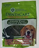 DentaCare Grain Free Dental Chews Daily Oral Care (12-pack / Strawberry & Blueberry Flavored)
