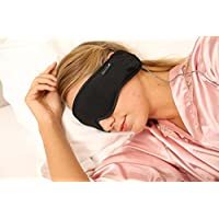 Hibermate Sleep Headphones & Sleeping Mask. Improved/Updated August 2017. Kevlar Cable, Premium, Gift Boxed, In-line Remote (w. Mic for Ph Calls). Durable. The Last Pair Youll Ever Need to Buy