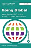 img - for Going Global: Managing the HR Function Across Countries and Cultures (Gower HR Transformation Series) book / textbook / text book