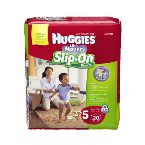 Huggies Little Movers Slip Diapers