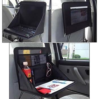 Amazon.com: Aketek Travel Car Laptop Holder Tray Bag Mount Back Seat ...