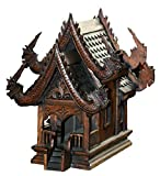 Thai Spirit House Large14 Sanpraphum Large Actual Size Thai Buddhist Wood Carving For Spiritual Haunted Spirit House Temple,