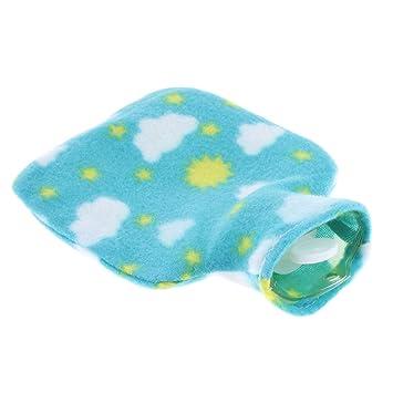 FLAMEER - Bolsa de agua caliente para ropa de cama (250 ml ...