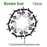 Green Hut 6 Pair of 1/8 inch Adjustable Rope Hanger
