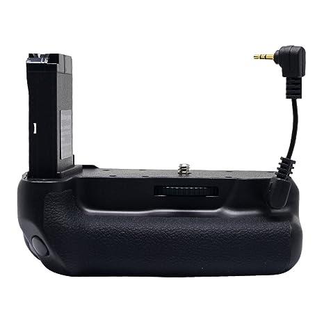 Mcoplus batería Grip Holder Pack trabajo para cámaras réflex Canon ...
