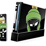 Looney Tunes Wii (Includes 1 Controller) Skin - Marvin the Martian Vinyl Decal Skin For Your Wii (Includes 1 Controller)