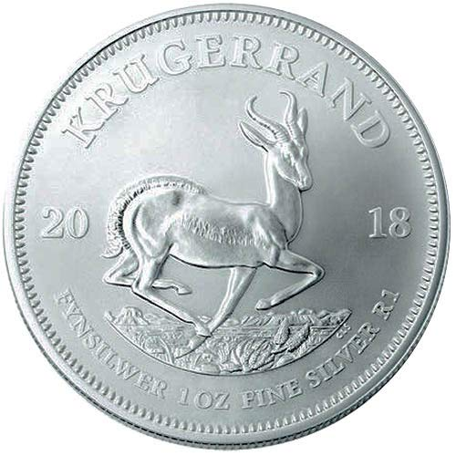 2018 ZA Silver Krugerrand $1 Brilliant Uncirculated ()