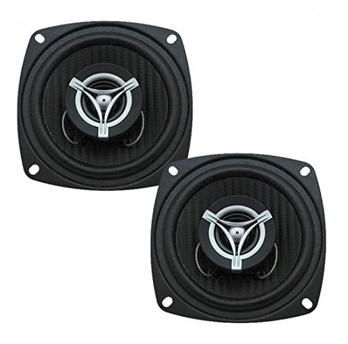 Power Acoustik EF-42 Edge Series 250 Watt 4x2033; 2-Way Coaxial Speakers by Power Acoustik