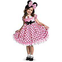 Disguise Mickey Mouse Clubhouse Minnie Glow In The Dark Dot Dress Costume