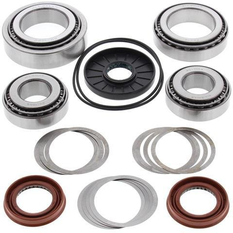 All Balls - 25-2088 - Rear Differential Bearing and Seal Kit Polaris