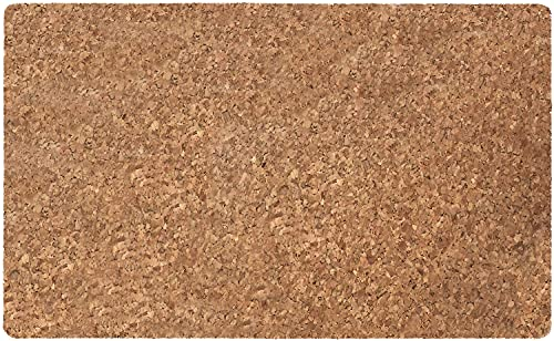 Pureglad Kitchen Mat, Doormat with Heavy Duty Backing, Pure Cork Kitchen Floor Mats and Rugs, 18''x30'', Easy Clean, Waterproof, Rug Mats for Entry, Kitchen, Patio, Busy Areas